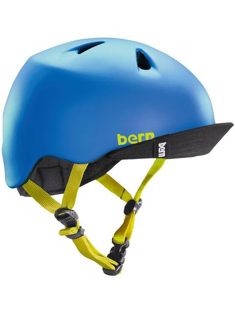 Bern Nino - Casco de bicicleta Niños - azul